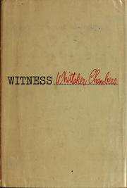 Cover of: Witness