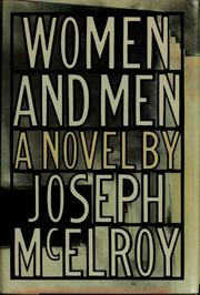 Cover of: Women and men | Joseph McElroy
