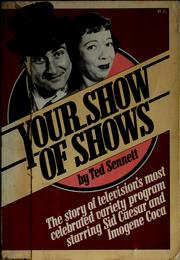 Cover of: Your show of shows