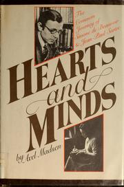 Cover of: Hearts and minds: the common journey of Simone de Beauvoir and Jean-Paul Sartre