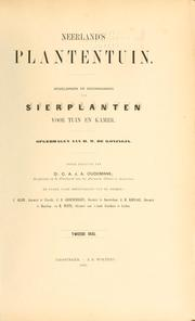 Cover of: Neerland's Plantentuin