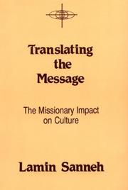 Cover of: Translating the message