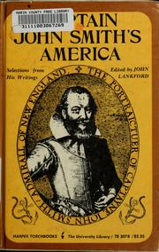 Cover of: Captain John Smith's America