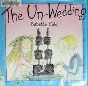 Cover of: The un-wedding