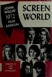 Cover of: Screen world 1972