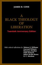 Cover of: A Black theology of liberation