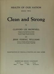 Cover of: Clean and strong