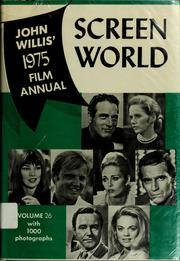 Cover of: John Willis'screen world
