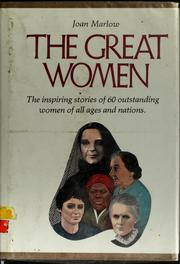 Cover of: The great women | Joan Marlow