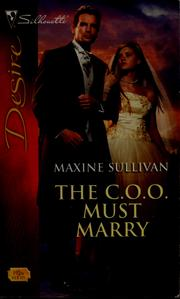 Cover of: The C.O.O. must marry