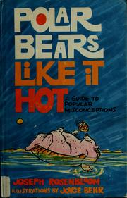 Cover of: Polar bears like it hot