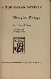 Cover of: Shanghai passage