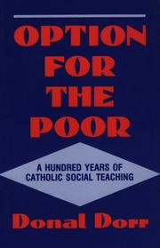 Cover of: Option for the poor