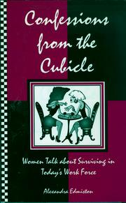 Cover of: Confessions from the cubicle
