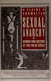 Sexual Anarchy by Elaine Showalter