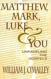 Cover of: Matthew, Mark, Luke, & You