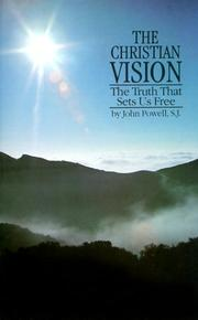 Cover of: The Christian Vision | John Powell