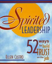 Cover of: Spirited Leadership | Ellen Castro