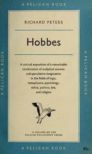 Cover of: Hobbes