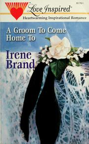 Cover of: A groom to come home to