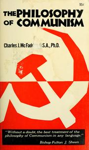 Cover of: The philosophy of communism