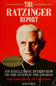 Cover of: The Ratzinger report