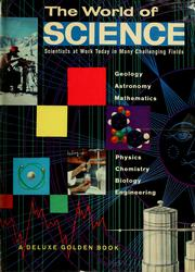 Cover of: The world of science
