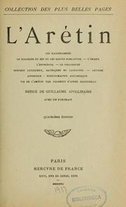 Cover of: L'Arétin