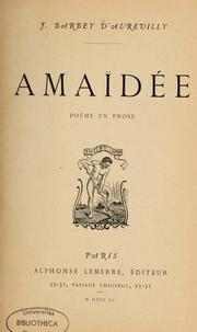Cover of: Amaidée