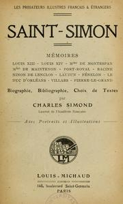 Cover of: Mémoires --