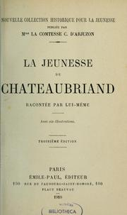 Cover of: La jeunesse de Chateaubriand