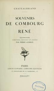 Cover of: Souvenirs de Combourg