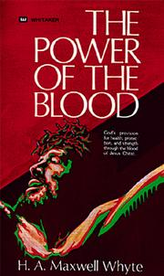 Cover of: Power of the Blood | H. A. Whyte