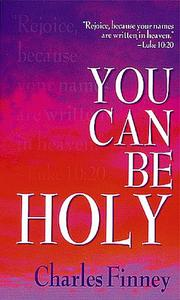 Cover of: You Can Be Holy
