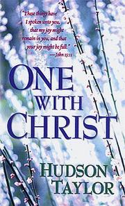 Cover of: One With Christ