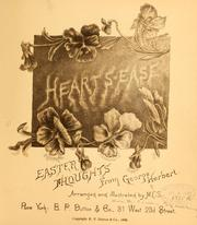Cover of: Heart's-ease