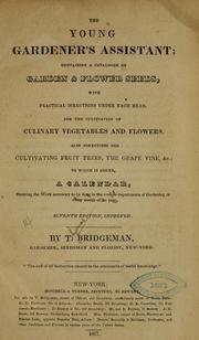 Cover of: The young gardener's assistant
