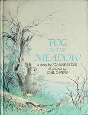 Cover of: Fog in the meadow