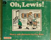Oh, Lewis! Story and pictures