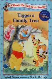 Cover of: Tigger's family tree