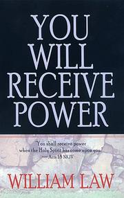 Cover of: You will receive power