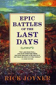 Cover of: Epic battles of the last days