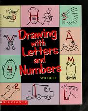 Cover of: Drawing with letters and numbers