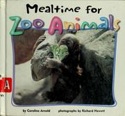 Cover of: Mealtime for zoo animals