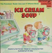 Cover of: Ice cream soup