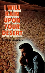 "Cover of: ""I will rain upon your desert!"" 