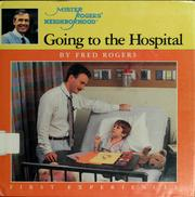 Cover of: Going to the hospital