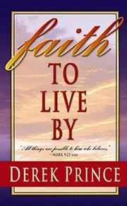 Cover of: Faith to Live By