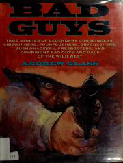 Cover of: Bad guys