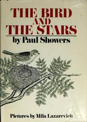 Cover of: The bird and the stars | Paul Showers